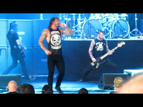 As I Lay Dying   Cauterize New Song live at the PNC Bank Aug 8th 2012