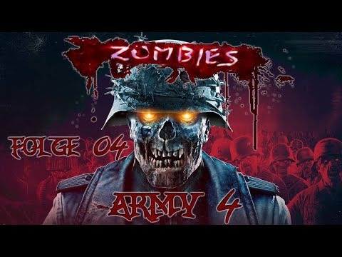 Let´s Play Zombie Army 4 - Runde Boot Fahren #04 [German/Deutsch]
