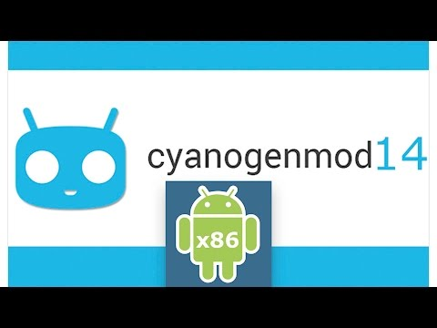 CyanogenMod 14 x86 on PC | Android x86 Nougat