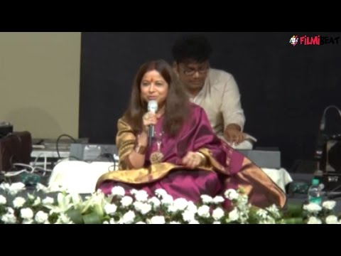 Rekha Bhardwaj paying tribute to Jagjit Singh in cutest way; Watch Video | Filmibeat