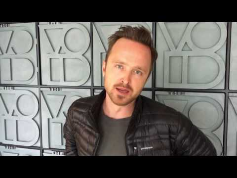 "Aaron Paul demos ""Curse of the Serpent"