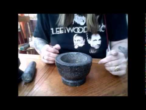 Rachel Patterson How to make loose incense