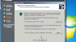 Instalación de Windows 2003 Server
