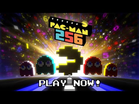PAC-MAN 256 - Launch Trailer (Google Play, Amazon & App Store)