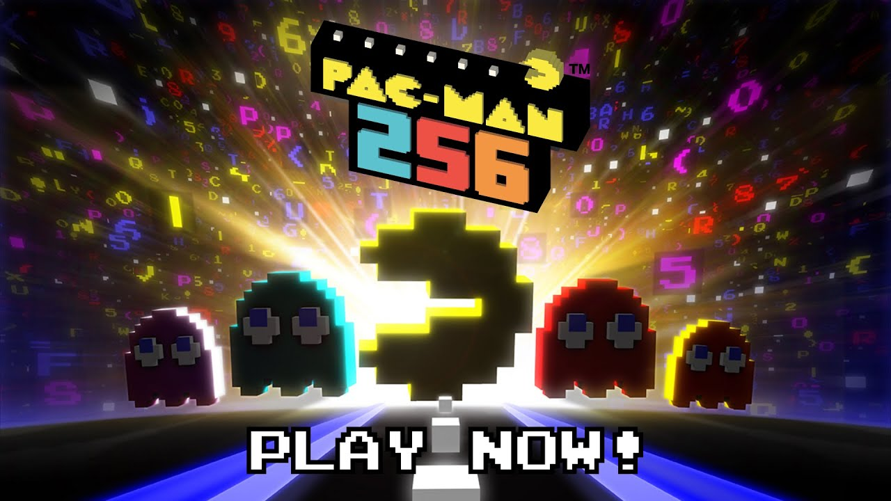 pac man 256 launch trailer google play amazon app store youtube