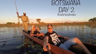 SafariSoulmates Vlog - Day 02 - Exploring the Okavango Delta