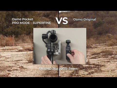 DJI Osmo Pocket Vs Osmo Original