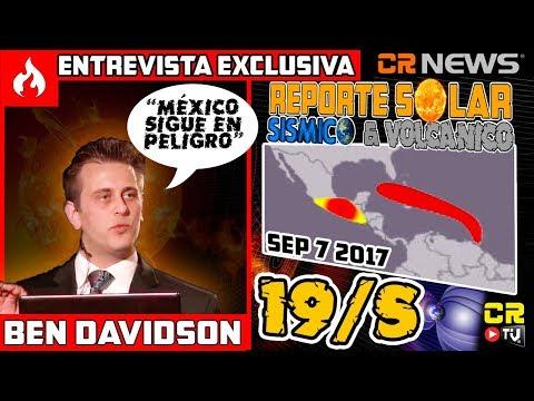 BEN DAVIDSON: 'MÉXICO SIGUE EN PELIGRO' DE OTRO 19/S  | ENTREVISTA EXCLUSIVA  ALEX BACKMAN