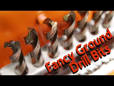 Testing Fancy Ground Chinese Cobalt Drill Bits