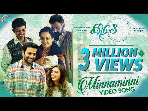Koode -Minnaminni |Prithviraj Sukumaran,Nazriya Nazim,Parvathy|Anjali Menon|M Jayachandran|M Renjith