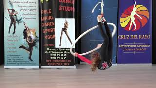 .Гинзбург Александра 7 лет - Catwalk Dance Fest VIIl [pole dance, aerial] 14.05.17.
