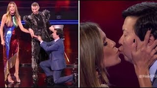 Heidi Klum & Ken Jeong Get ENGAGED On TV After NEARLY DYING Together! | America