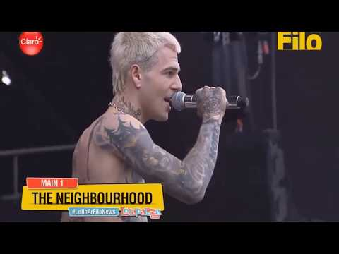 The Neighbourhood - Sweater Weather live at Lollapalooza Argentina 2018