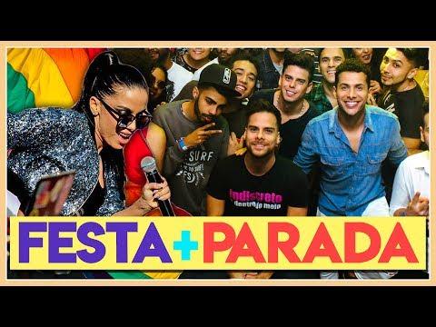 PARADINHA NA PARADA LGBT 2017 + FESTA DE 3 ANOS DO PÕE NA RODA - Põe No Vlog