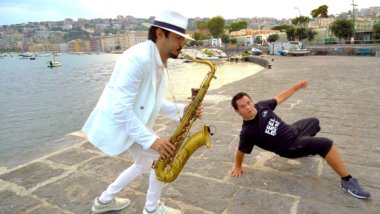 """""""FADED"""" - Alan Walker (with DANCING GUY) Saxophone Cover 2020"""