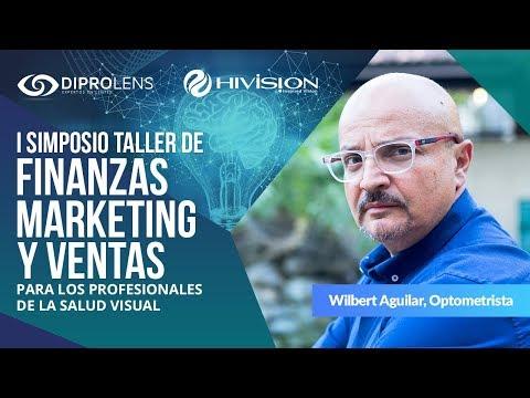 Simposio Taller de Asesoría y Venta en Óptica: Wilbert Aguilar, Optometrista