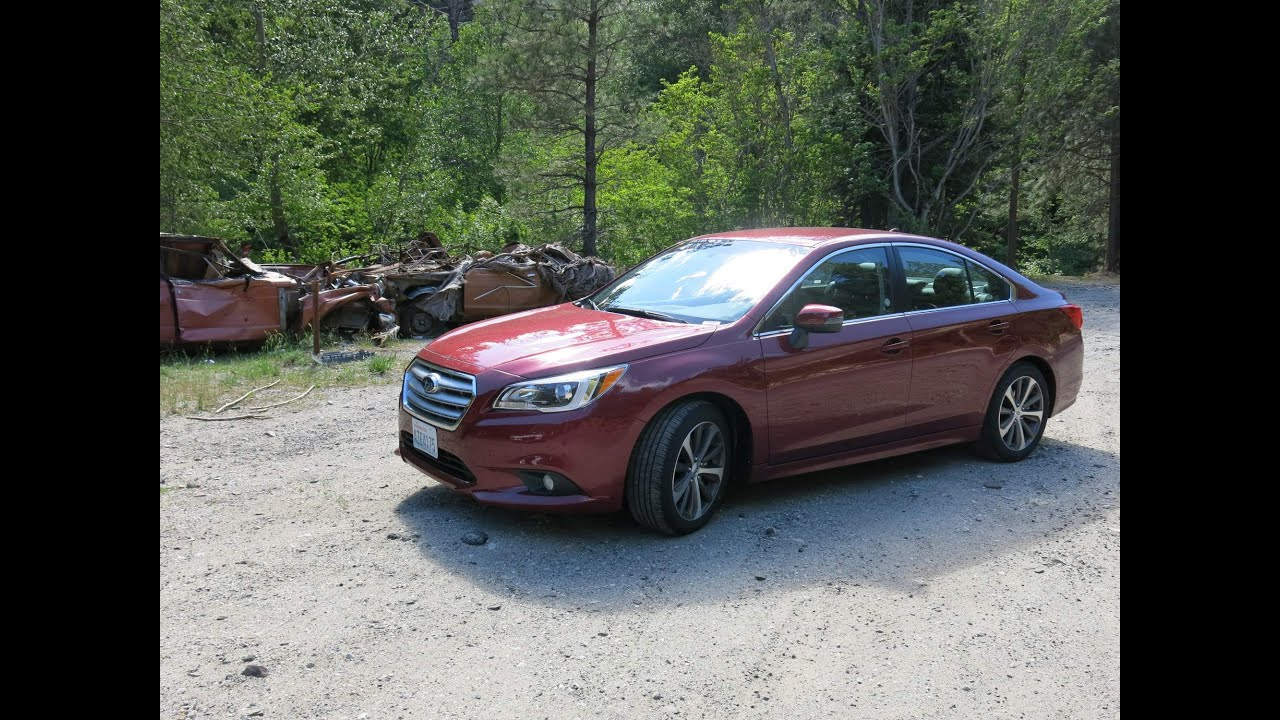 Subaru Legacy 2016 на русском