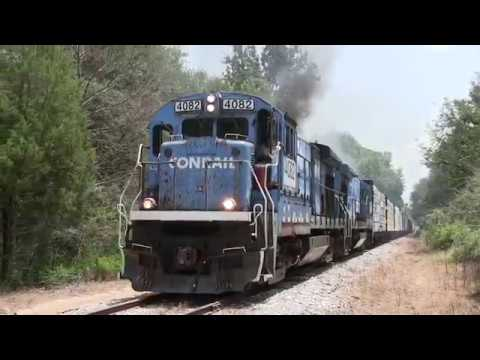 Meridian Southern Railway: Conrail B23-7s, Cabride Footage!