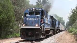 Meridian Southern Railway: Conrail B23-7s, Cabride Footage!