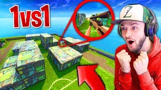 We built SHIPMENT and SNIPER 1v1'd in FORNITE! thumbnail