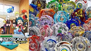 ALL Season 1 (Dual Layer) BEYBLADE BURST MARATHON BATTLE!