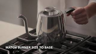 How to Use the Precision Gooseneck Stovetop Kettle | KitchenAid® Precision Gooseneck Stovetop Kettle
