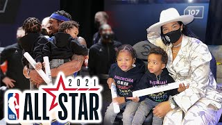 The Beal Family goes to NBA All Star Weekend 2021