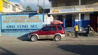 Port au Prince 2017 Main Street Condition