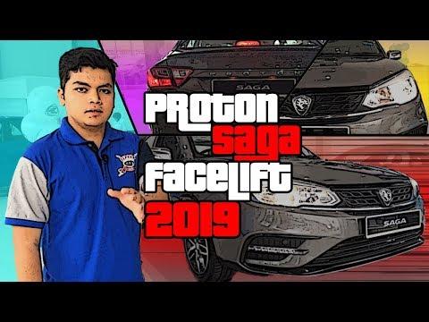 PROTON SAGA FACELIFT 2019   Review Penuh *Varian Premium*