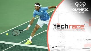 The Tennis Shoes Designed to Glide on Hard Courts | The Tech Race