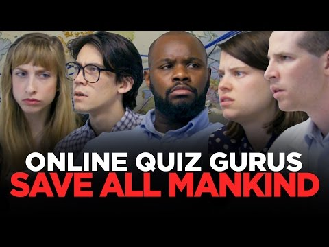 Mankinds Last Hope: People Who Are Good At Online Quizzes