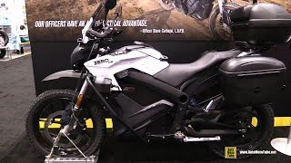 2016 Zero DSP ZF13 Dual Sport Security and Police Patrol Electrique Bike - Walkaround - 2015 AIMExpo