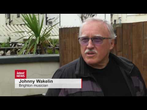 Brighton singer Johnny Wakelin of In Zaire pays tribute to Muhammed Ali