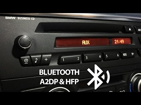 BMW bluetooth install for Business CD radio (AUX, A2DP, USB)