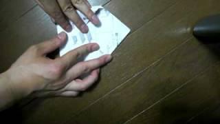 チラシの紙で作る卓上ゴミ箱 thumbnail