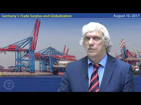 EIIW President Welfens on Germany´s Trade Surplus and Globalization
