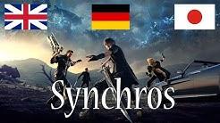 Final Fantasy XV Sprachvergleich Englisch / Deutsch / Japanisch