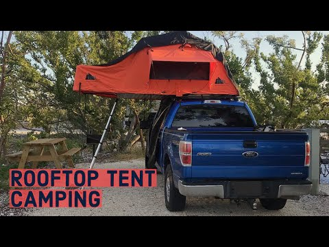 ROOF TOP TENT Camping In The Florida Keys!