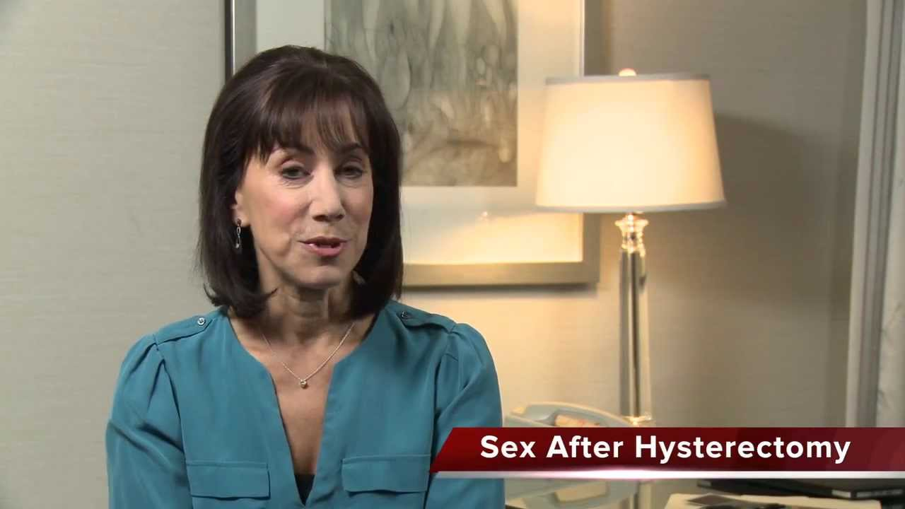 Dr Streicher Sexual Health Q And As Sex After Hysterectomy Youtube