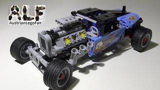 Lego Technic 42022 Hot Rod - Lego Speed Build Review