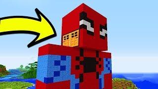 відео майнкрафт як зробити людину з блоків