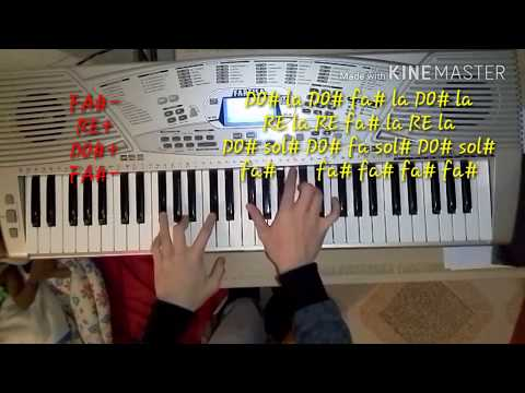 Survivor Tim Halperin piano tutorial + note