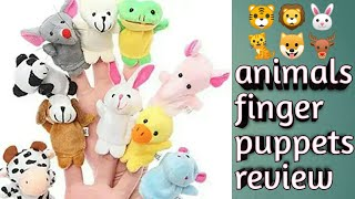 Animal finger puppets toys for kids review plz like share and subscribe