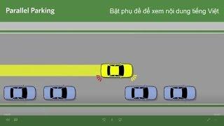 Hướng dẫn kỹ thuật ghép ngang xe, đỗ xe ô tô song song trên đường - Hà Thành Auto