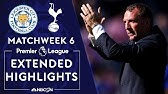Leicester City v. TottenhamPREMIER LEAGUE HIGHLIGHTS9/21/19NBC Sports