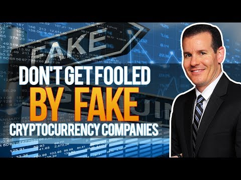 Fake Crytocurrency Companies (Don't Get Fooled)