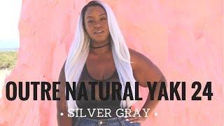 The Infamous Outre Natural Yaki 24   SGR   Vixen Hair   Chelcie J