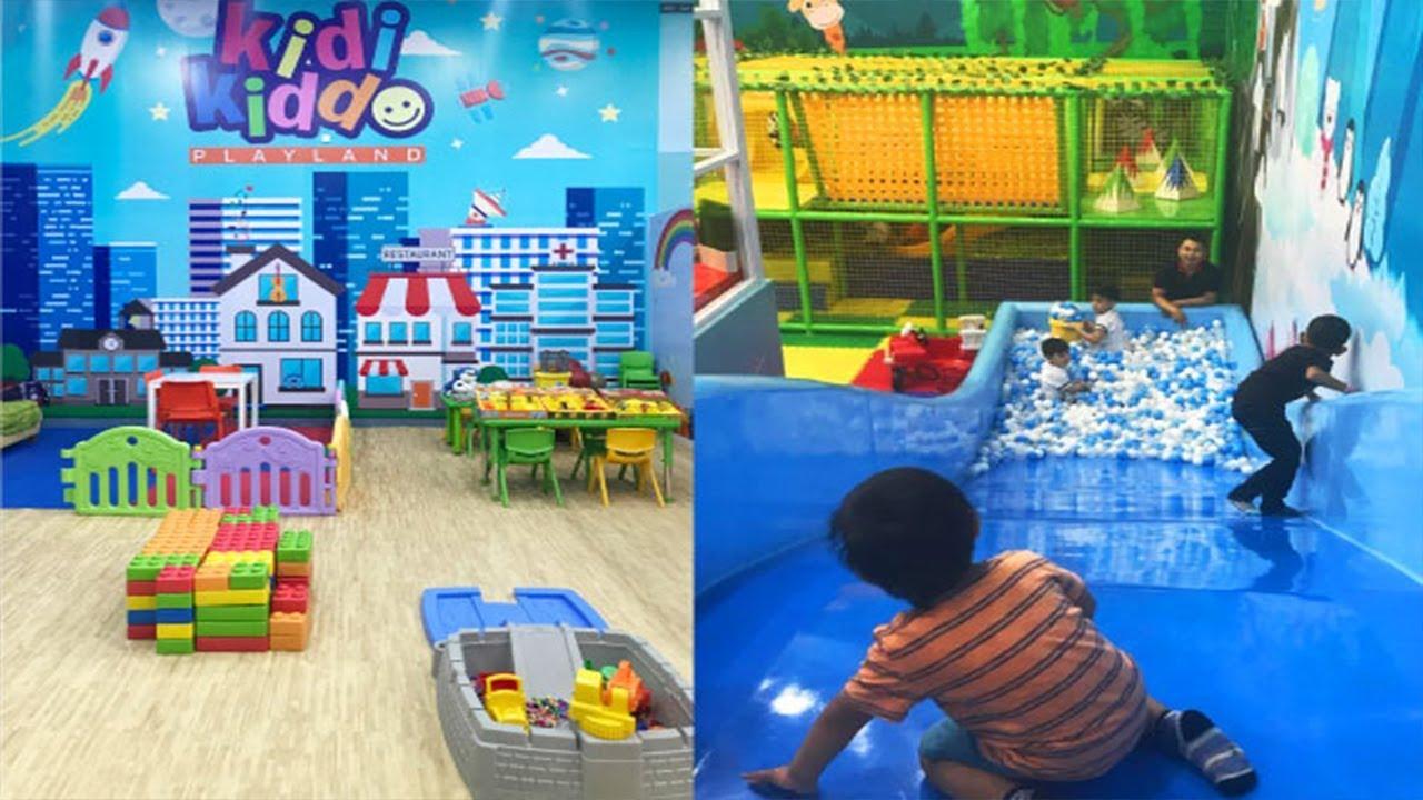 Kidi Kiddo Tempat Bermain Anak Di Mall Kelapa Gading Youtube