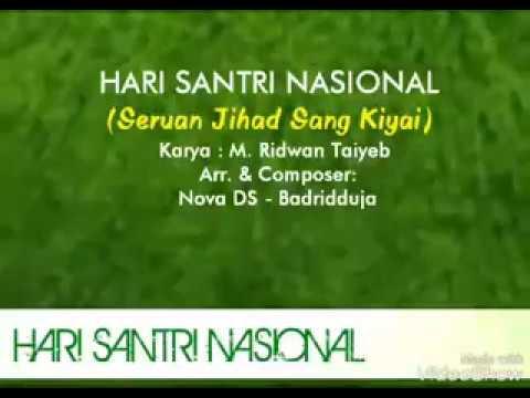 Mars Hari Santri Nasional 22 Oktober + Lirik Video