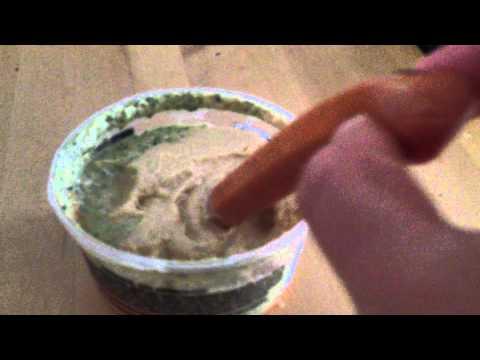 Nasty Hot Dog Likes Hummus....Maybe to much !!!